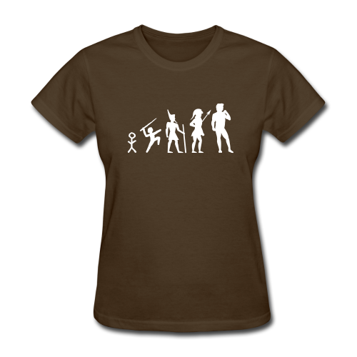 The Evolution of Art Shirt - Copyright K. Loraine