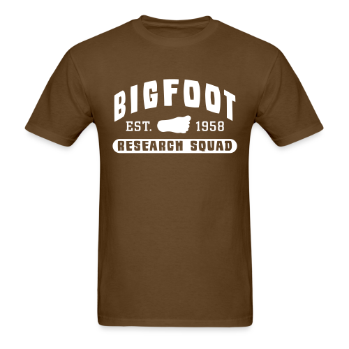 Bigfoot Research Squad Shirt