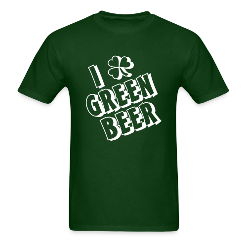 I Love Green Beer St. Patrick's Day Shirt