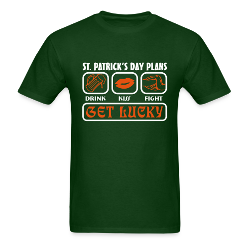 Plans for St. Patrick's Day Shirt