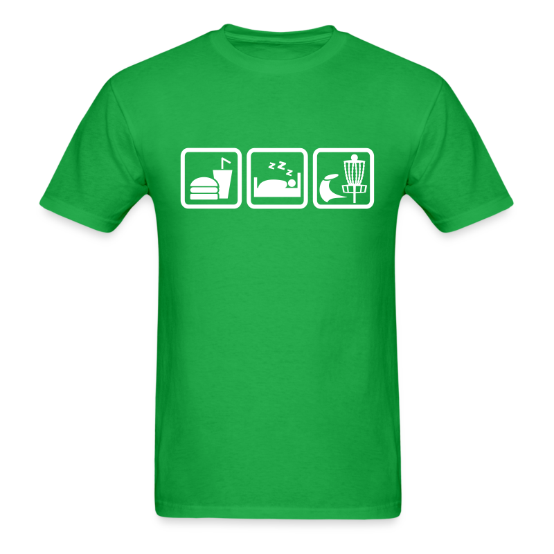 Eat Sleep Disc Golf Shirt