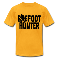 T-Shirts ~ Men's T-Shirt by American Apparel ~ Bigfoot Hunter