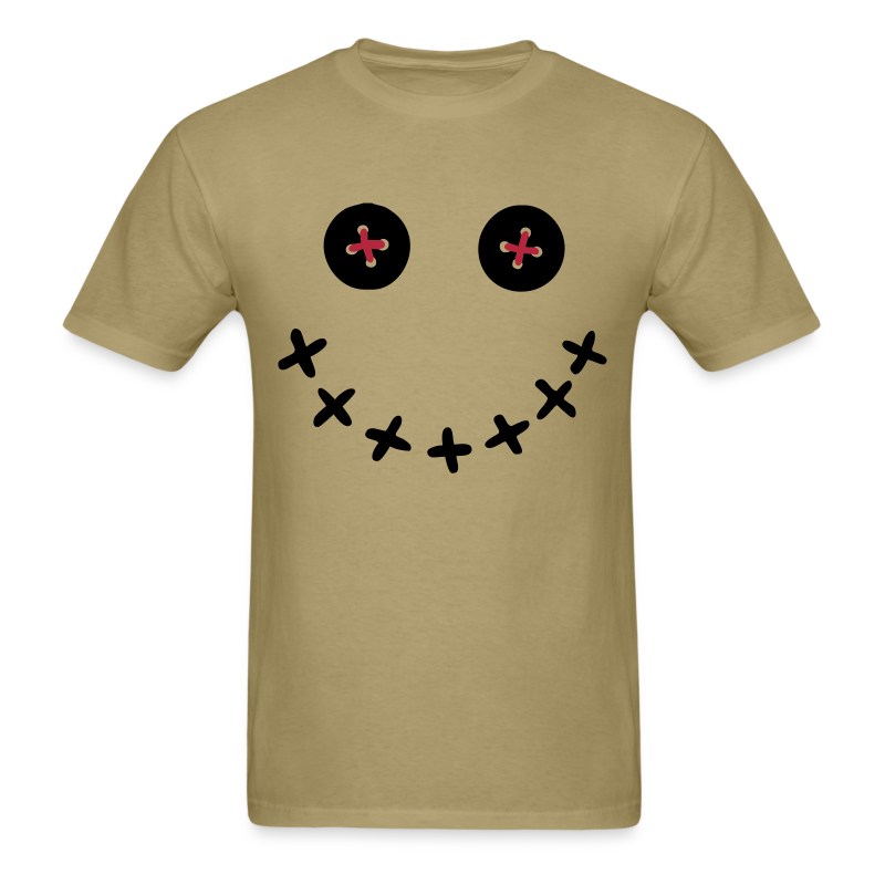 Voodoo Doll Smiley Face Shirt