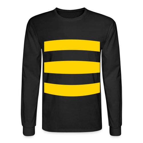 Long Sleeved Bumble Bee Costume  Shirt