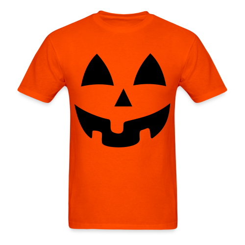 Halloween Jack-O-Lantern Pumpkin Face Shirt Costume
