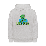 Sweatshirts ~ Kids' Hooded Sweatshirt ~ Lake Orion