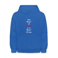 Sweatshirts ~ Kids' Hooded Sweatshirt ~ Friend of Detroit