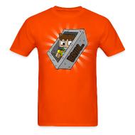 T-Shirts ~ Men's T-Shirt ~ Bruh Cart Orange