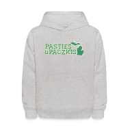 Sweatshirts ~ Kids' Hooded Sweatshirt ~ Pasties & Paczkis