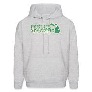 Hoodies ~ Men's Hooded Sweatshirt ~ Pasties & Paczkis