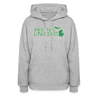 Hoodies ~ Women's Hooded Sweatshirt ~ Pasties & Paczkis