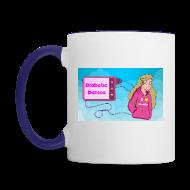 Bottles & Mugs ~ Contrast Coffee Mug ~ DiabeticDanica Logo Mug