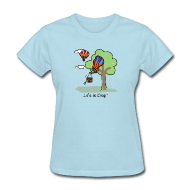 Women's T-Shirts ~ Women's T-Shirt ~ Ballooning Tree Crash  - Womens Classic T-Shirt