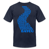 T-Shirts ~ Men's T-Shirt by American Apparel ~ Bayou City