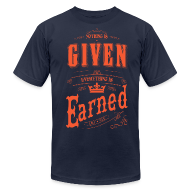 T-Shirts ~ Men's T-Shirt by American Apparel ~ The King to Cleveland: