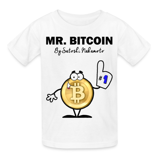 Kids Mr Bitcoin By Satoshi T Shirt