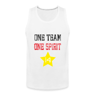 Men ~ Men's Premium Tank Top ~ Germany team spirit