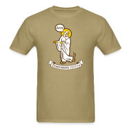 T-Shirts ~ Men's T-Shirt ~ God is Tired of Your $#!%