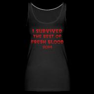 Tanks ~ Women's Premium Tank Top ~ I Survived Tank