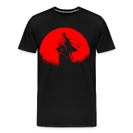 T-Shirts ~ Men's Premium T-Shirt ~ Red Moon Shishio