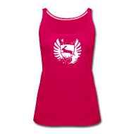 Tanks ~ Women's Premium Tank Top ~ Glam bunny