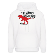 Hoodies ~ Men's Hooded Sweatshirt ~ ROCK PICKING
