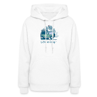 Hoodies ~ Women's Hooded Sweatshirt ~ Jeep Mountain Bike Overpass