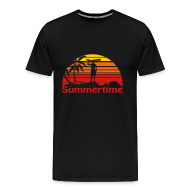 T-Shirts ~ Men's Premium T-Shirt ~ Summertime