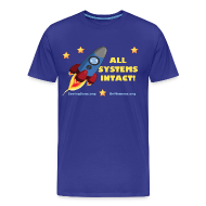 T-Shirts ~ Men's Premium T-Shirt ~ All Systems Intact [2 Sides / Text Change]