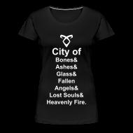 Women's T-Shirts ~ Women's Premium T-Shirt ~ TMI titles shirt