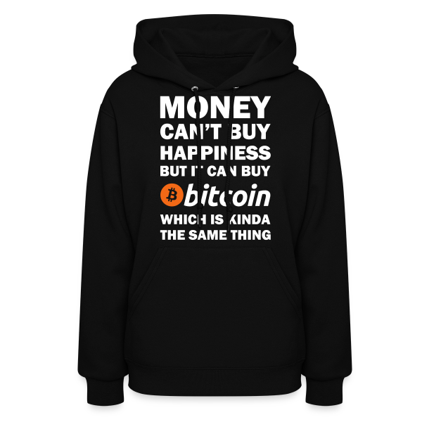 Bitcoin Happy Money Hoodie