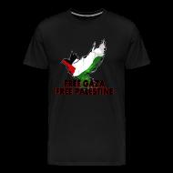 T-Shirts ~ Men's Premium T-Shirt ~ free_gaza_palestine_h