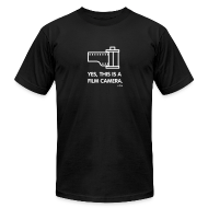 T-Shirts ~ Men's T-Shirt by American Apparel ~ Premium - yes, this is Film Camera