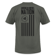 T-Shirts ~ Men's T-Shirt by American Apparel ~ Nation