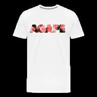 T-Shirts ~ Men's Premium T-Shirt ~ AGAPE (Roses) shirt
