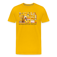 T-Shirts ~ Men's Premium T-Shirt ~ Pharamceutical factory for pharmacists
