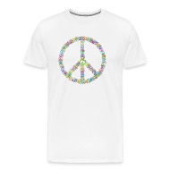 T-Shirts ~ Men's Premium T-Shirt ~ Peace Sign of Peace signs