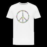 T-Shirts ~ Men's Premium T-Shirt ~ Peace Sign of Peace signs