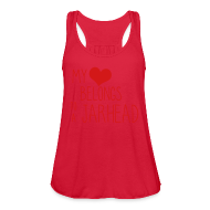 Tanks ~ Women's Flowy Tank Top by Bella ~ JarHead ( Flowy Tank )