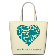 Bags & backpacks ~ Eco-Friendly Cotton Tote ~ Distance Bag