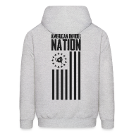 Hoodies ~ Men's Hooded Sweatshirt ~ Nation