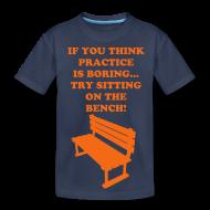 Kids' Shirts ~ Kid's Premium T-Shirt ~ Sitting on the bench Tee