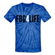 T-Shirts ~ Unisex Tie Dye T-Shirt ~ Tye-Dye FBG4LIFE Tee