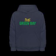 Sweatshirts ~ Kids' Hooded Sweatshirt ~ This Girl Roots For Green Bay