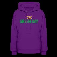 Hoodies ~ Women's Hooded Sweatshirt ~ This Girl Roots For Green Bay