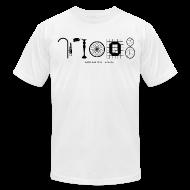 T-Shirts ~ Men's T-Shirt by American Apparel ~ 77008