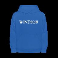 Sweatshirts ~ Kids' Hooded Sweatshirt ~ Windsor