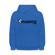 Sweatshirts ~ Kids' Hooded Sweatshirt ~ Wynadotte Michigan
