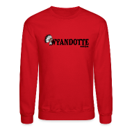 Long Sleeve Shirts ~ Men's Crewneck Sweatshirt ~ Wynadotte Michigan