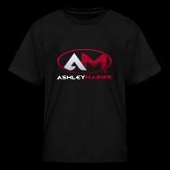 Kids' Shirts ~ Kids' T-Shirt ~ AshleyMarieeGaming Logo - Black T-Shirt Premium (Female)